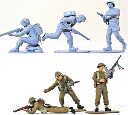 British Infantry 1939-45 - Full paint