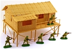 Bamboo Hut - retired! - limited stock