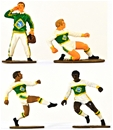 Football (Soccer) Players - Fully painted version