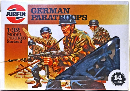 WWII German Paratroops - brown box
