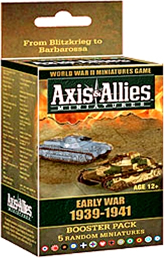 Axis & Allies Miniatures Early War 1939-1941