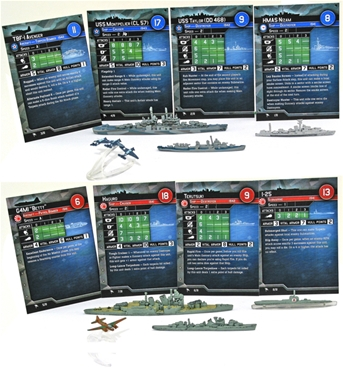 Axis and Allies Naval War at Sea - Revised Starter