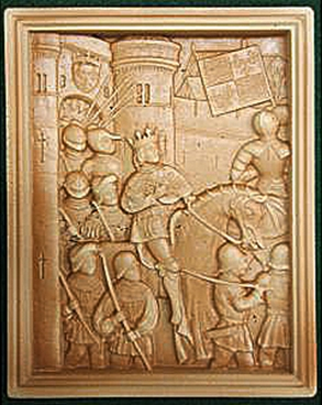 Medieval Wall Plaque