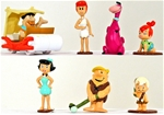 Flintstones Character Figures - painted version