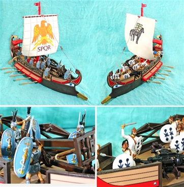 Painted Rome vs. Carthage at Sea - last set!