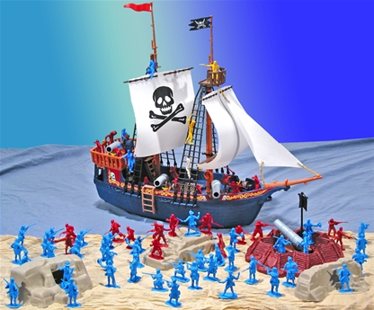 Deluxe Pirate Playset
