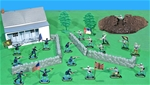 Britain's Painted Civil War Playset