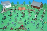 Deluxe Painted Britains Deetail Civil War Playset