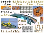 WW II D-Day Commandos Strike at Dawn Playset