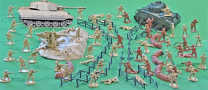 Battle ready ww ii north african campaign 54mm plastic toy soldier battle ready ww ii north african campaign playset sciox Choice Image