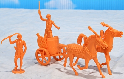 Egyptian Chariot Horse - single figure
