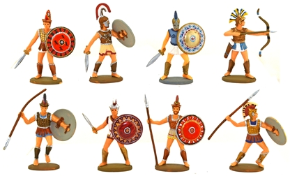 The Greek Army - fully Painted