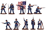 Accurate Union Infantry - fully painted - save 40%