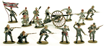Imex C.S.A. Infantry - fully painted - save 40%