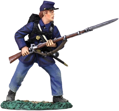 Union Infantry Charging No 4