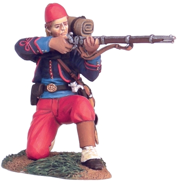 114th Pa Zouave Kneeling Firing No.1
