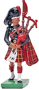 Black Watch Bagpiper - 1st Version 1985