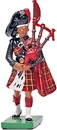 Highland Bandsmen - Black Watch Bagpiper