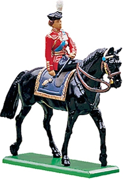 Queen Elizabeth H.M. Queen - Mounted