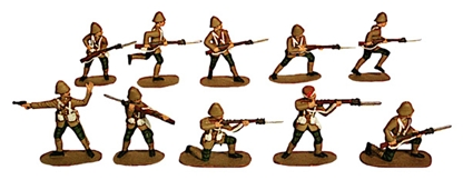 British Army - NW Frontier 1895-1902 - Fully Paint