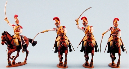 1812 French Carabinier Cavalry - Fully painted
