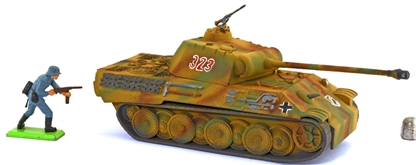 WWII German Panther Tank - Fully  painted