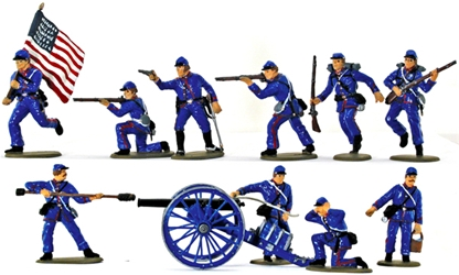 Union Artillerymen - Basic painted - last set