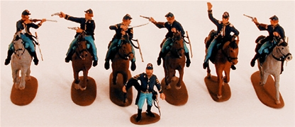 Union Cavalry Set - Fully painted