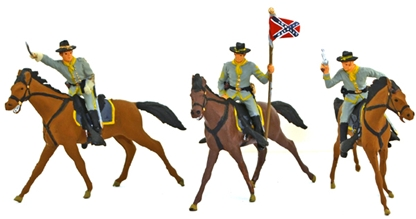 C.S.A. Cavalry - fully painted