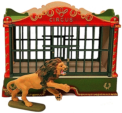 Circus Cage - Fully painted