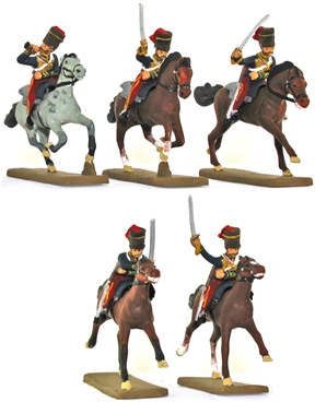 British 11th Hussars - fully painted