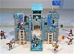 Mid-Size Wooden Castle and Knights Set
