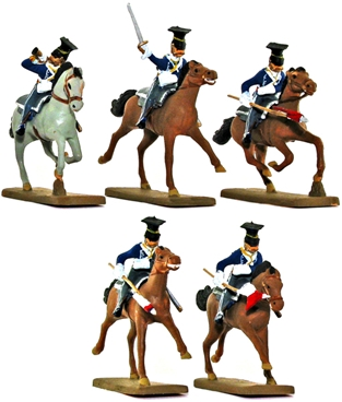 British 17th Lancers - fully painted