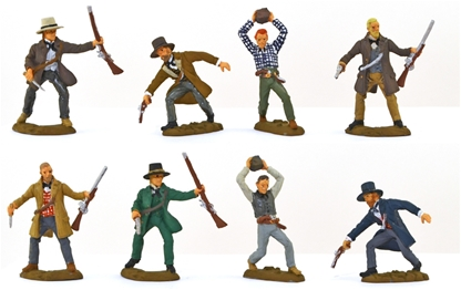 Texan Civilian-Soldiers - fully painted