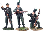 British Riflemen