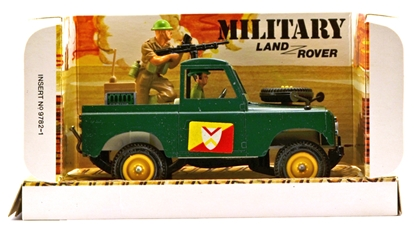 Deetail WWII Land Rover - mint in box