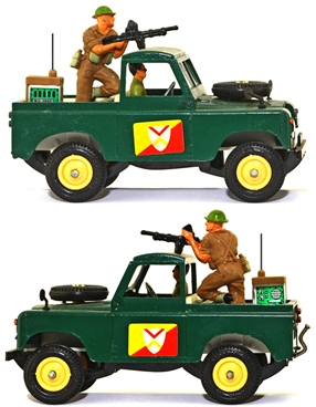 Deetail WWII Land Rover - vg-excellent