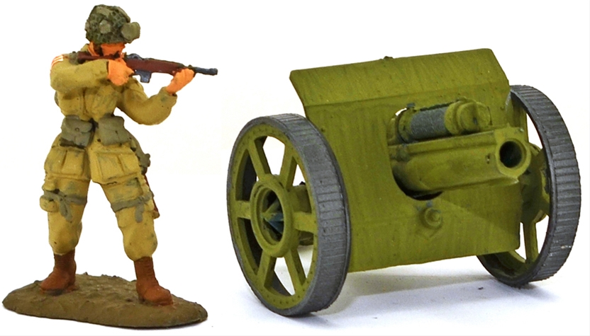British Field Gun - Basic painted