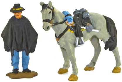 Union Horse Soldier - Fully painted