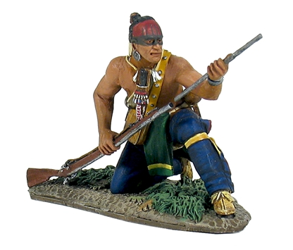 Woodland Indian Kneeling Loading