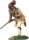 Woodland Indian Running with Musket #1