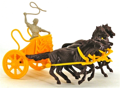 Chariot with 4 Running Horses - low stock!