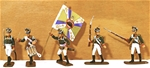 Napoleonic Russian Infantry Command - full paint