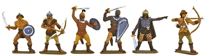 Dothraki Foot Warriors - Fully painted