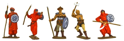Dothraki Foot Warriors set 2 - Fully painted