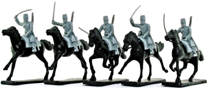 Russian Cossacks - gray color