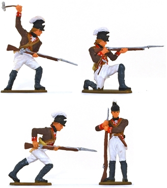 1776 U.S. Continental Rifle Corps - Fully painted