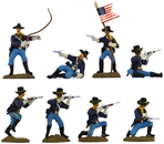 United States Cavalry set 4 - fully painted