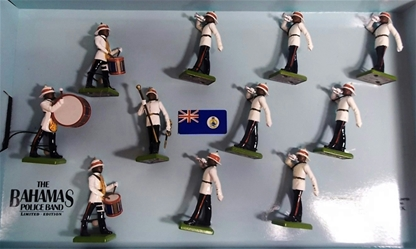 Bahamas Police Band - Only 3 sets in stock!