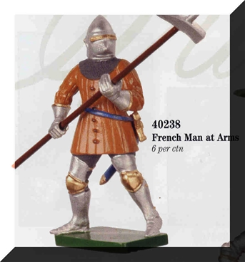 French Man-at-Arms - Only One in Stock!